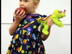 Ms. Frizzle Outer Space Costume Dress | Geek-a-bye Baby