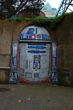STAR WARS | R2-D2 | Street Art