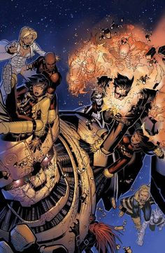 ✭ X-Men by Chris Bachalo