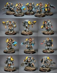 Space Wolves Terminator Squad