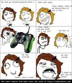 Rage Comics: It's for a pretty hardcore gamer...
