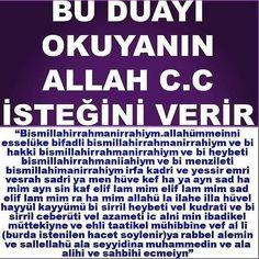 Bu duayı okuyana Allah istediğini verir | www.corek-otu-yagi.com – corek-otu-yagi.com Allah Islam, English Vocabulary, Pray