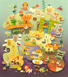 Mario Dreams by Ken Wong (Prints are available!)