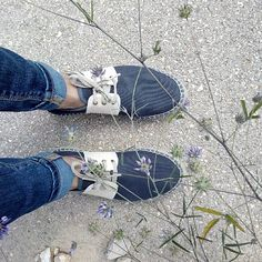 Spring walk with my double sole #espadrille #slowers #slowlife #godespacia #soyslowers #veganshoes #organiccotton you can find them un our Shop www.slowers.es