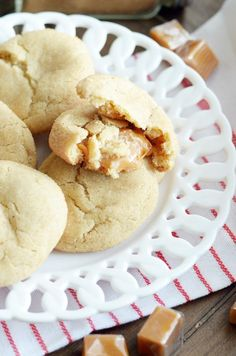 Soft and chewy snickerdoodles with a buttery caramel surprise on the inside. Use werther's soft caramels