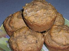 Banana Raisin Muffins