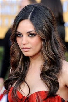 Image result for mila kunis hair