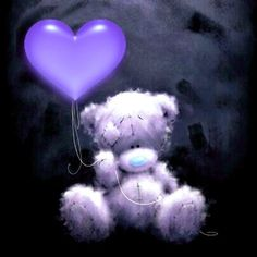 Tatty Teddy, Cute Wallpaper Backgrounds, Cute Wallpapers, Cute Images, Cute Pictures, Happy Face Images, Baby Bear Tattoo, Teddy Beer, Purple Teddy Bear