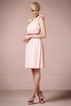 Light Pink Dresses For Bridesmaids