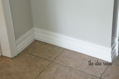 How to DIY tall baseboards without removing your existing builder grade baseboards