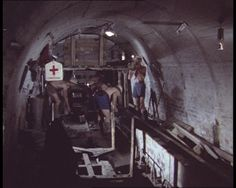 Coal miners at work in 1972: http://www.britishpathe.com/video/coal-mining-1