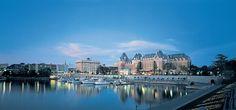 Harbour View  Empress Fairmont Hotel Victoria British Columbia Canada