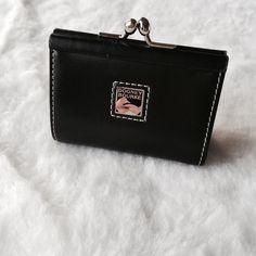 Dooney and Bourke Black Coin Purse Dooney and Bourke Black Coin Purse - leather, great condition! Dooney & Bourke Accessories