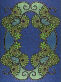 Vlisco New Java Jeu de Couleurs Design Blue  | Join our Vlisco l'Afrique en Couleurs contest: http://www.pinterest.com/vlisco/vlisco-contest-lafrique-en-couleurs/ | #vlisco #vliscocolourcontest #contest #pintowin #blue