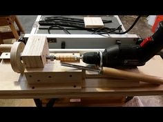 home made Mini Lathe, Simply the best out there - YouTube