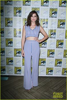Shelley Hennig at the Comic-Con 2017