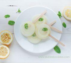 Polos de limón y menta