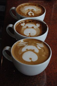 Latte Art. ¿Reconocéis esta famosa escena?