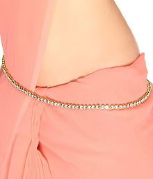 Vs Boutique Saree Challa Kamarbandh Kamarpatta belly hips chain waist belt white beads/diamonds : Buy Vs Boutique Saree Challa Kamarbandh Kamarpatta belly hips chain waist belt white beads/diamonds Online in India on Snapdeal Waist Jewelry, Body Jewelry, Jewelry Shop, Jewelry Accessories, Indian Wedding Jewelry, Indian Jewelry, Ethnic Jewelry, Saree With Belt, Saree Belt