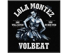 Volbeat Lola Montez - Official Patch