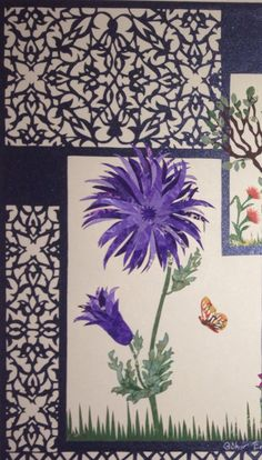 Paper Cut Gülnur Emre Plum Art, Marble Art, Origami Art, India, Botanical Prints, Islamic Art, Paper Design, Paper Cutting, Paper Art