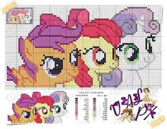 Cross Stitch Horse, Unicorn Cross Stitch Pattern, Cross Stitch Patterns, My Little Pony Craft, My Little Pony Unicorn, Cross Stitching, Cross Stitch Embroidery, Mini Pony, Stitch Cartoon