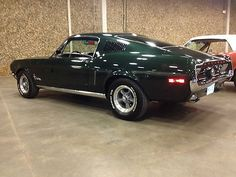 Ford : Mustang Fastback 1968 Mustang Fastback