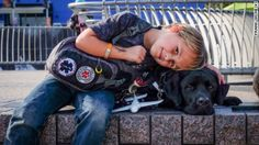 Luke Nuttall tackles type 1 diabetes with the help of his service dog, Jedi, who can detect when Luke's blood sugar is out of whack.