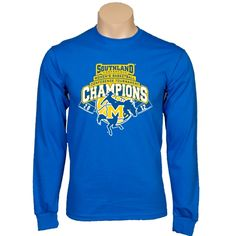 Royal Long Sleeve TShirt  '2012 Womens Basketball Champions Collegiate Design'