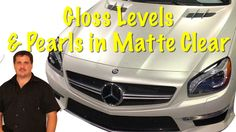 Matte Clear Gloss Levels....Can They be Adjusted? And Can Pearl Be Added...
