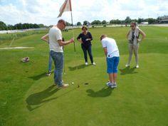 Leuk! Een #bedrijfsuitje op Pitch&Putt Golf Wolvega.
