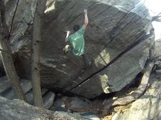 Swiss bouldering