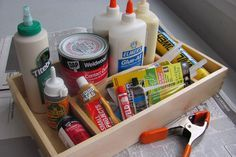 how to glue stuff to other stuff