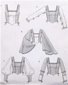 Fashion Sketches 788481847248275106 - Couture Urbaine dieser Internet-Tagebuch Jener Beamte Source by Costume Renaissance, Medieval Costume, Renaissance Clothing, Clothing Patterns, Sewing Patterns, Sewing Tutorials, Textiles Y Moda, Bodice Pattern, Fashion Drawings