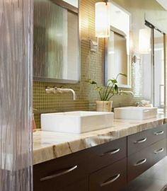 66 idées de salle de bains aux nuances de vert