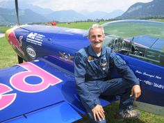 Péter Besenyei became an aerobatics pilot and won several titles in national and international championships. He won his first gold medal in 1982 at the Austrian National Championships. National Championship, Red Bull, Budapest, Bugs, Pilot, Racing, Beetles, Auto Racing, Lace
