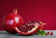 Pomegranate season is September through February, and the seeds (also known as arils) are great for adding to fall and winter recipes. Full of Vitamins C and K, pomegranates. Foods To Reduce Cholesterol, Lower Cholesterol, Fiber Supplements, Fatty Fish, New Fruit, Izu, Fiber Foods, Winter Food, Food Dishes