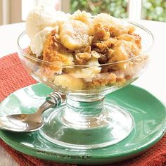"""Southern Living Recipe: Banana Bread Cobbler. If it has """"Southern Living"""" attached to the recipe anywhere, then I'm making it. Sounds divine."""