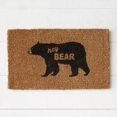 Coir Doormat - Hey B
