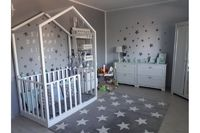 LASTENHUONEEN MATOT :: Flying-carpet-oy Cribs, Toddler Bed, Carpet, Furniture, Home Decor, Cots, Child Bed, Decoration Home, Bassinet
