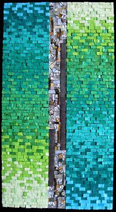 """Rachel Sager """"Truth & Beauty #3"""" mosaic"""