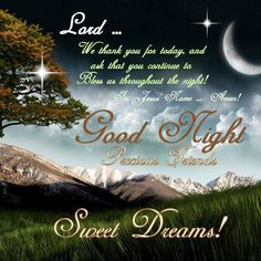 good night all good night sister good