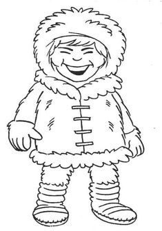 Colouring in pictures, print and colour, free eskimo image Online Coloring Pages, Coloring Pages For Girls, Free Coloring, Colouring, Have Some Fun, Colorful Pictures, Coloring Sheets, Laugh Out Loud, Norte