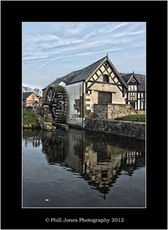 Old Water Mill at Rossett by Phill Jones - Photography, via Flickr