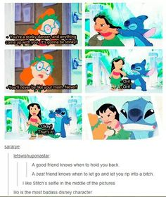 Lilo is the most badass Disney character! I freaking love lilo and stitch! Disney Pixar, Disney Diy, Disney Frozen, Walt Disney, Disney And Dreamworks, Disney Animation, Disney Love, Disney Stuff, Disney Princes