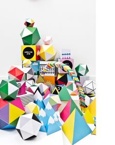 Marsha Golemac - The Design Files Web Design, The Design Files, Design Art, Paper Illustration, Graphic Design Illustration, Illustrations, Architecture Origami, Paper Engineering, Up Book