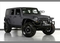 Jeep Wrangler Unlimited with Grey Kevlar Liner