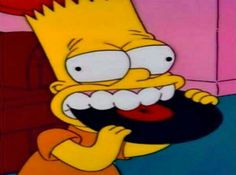 There's this page on FB that shares screenshots of odd Simpsons faces. Cartoon Memes, Cartoon Icons, Funny Memes, Music Cover Photos, Music Covers, Vintage Cartoon, Cute Cartoon, Simpsons Simpsons, Simpsons Quotes