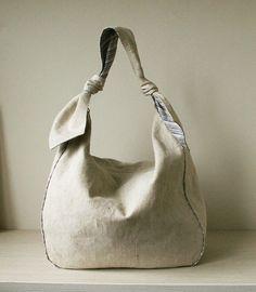 Leona Knot Strap Hobo Bag Sling Tote | YouCanMakeThis.com