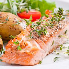 Paleo for Beginners: Lose Weight and Get Healthy with the Paleo Diet, Including a 21 Paleo Diet Recipes and Meal Plan Solution Salmon Recipes, Diet Recipes, Healthy Recipes, Delicious Recipes, Baked Salmon Fillet Recipe, Salmon Fillets, Healthy Snacks, Healthy Eating, Paleo For Beginners